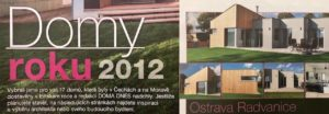 Dům na míru získal cenu dům roku 2012